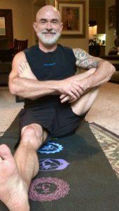 James Dustin Yoga Pose